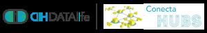 logo DATAlife y Conecta Hubs